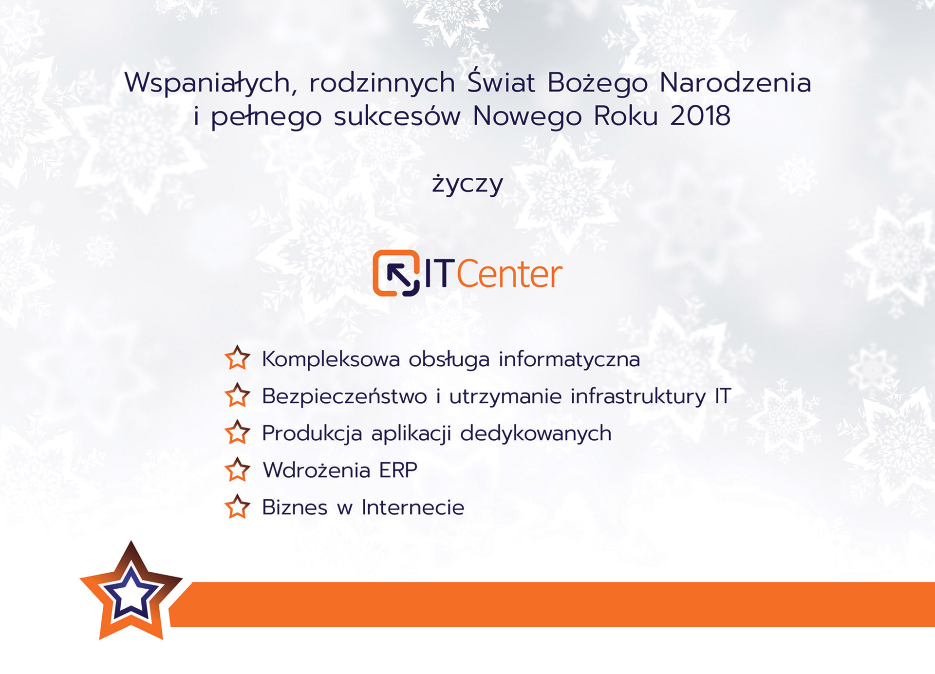 Wesołych Świąt życzy ITCenter